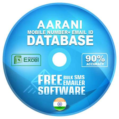 Aarani  email and mobile number database free download