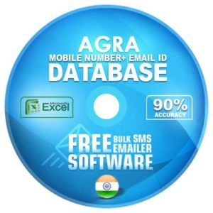 Agra District email and mobile number database free download