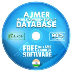 Ajmer District email and mobile number database free download