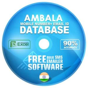 Ambala District email and mobile number database free download