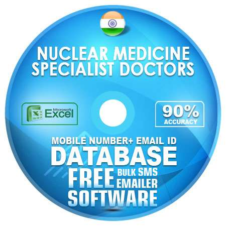 Indian Nuclear Medicine Specialist Doctors Mobile Number + Email ID Database