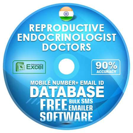Indian Reproductive Endocrinologist Doctors Mobile Number + Email ID  Database