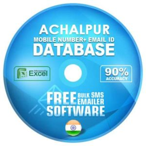 Achalpur email and mobile number database free download