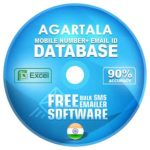 Agartala email and mobile number database free download