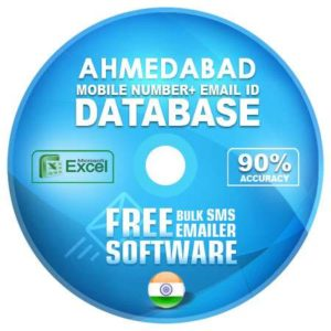 Ahmedabad District email and mobile number database free download