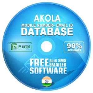 Akola email and mobile number database free download
