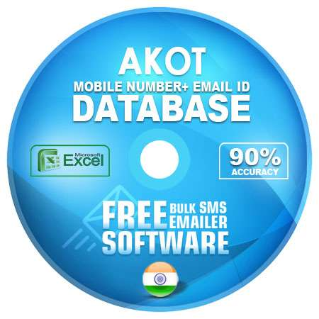 Akot  email and mobile number database free download