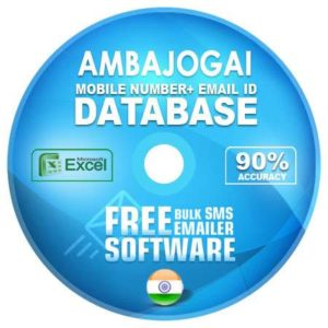 Ambajogai email and mobile number database free download