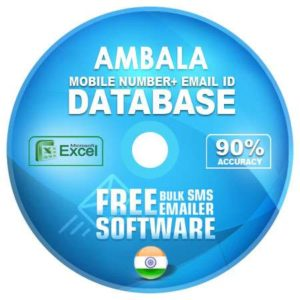 Ambala email and mobile number database free download