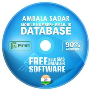 Ambala Sadar email and mobile number database free download