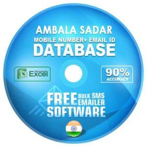 Ambala Sadar email and mobile number database free download