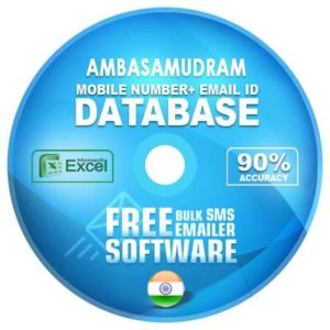 Ambasamudram email and mobile number database free download