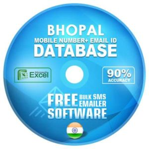 Bhopal District email and mobile number database free download