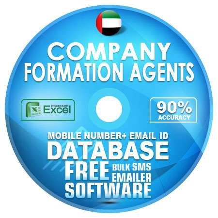 UAE Company Formation Agents Mobile Number + Email ID Database