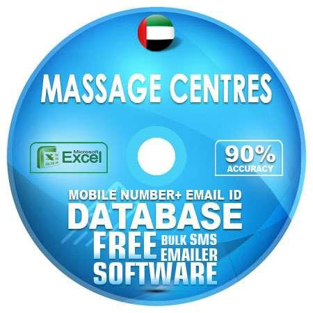 UAE Massage Centres Mobile Number + Email ID Database
