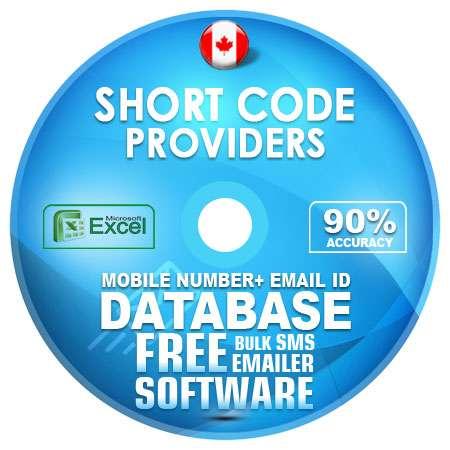 Canada Short Code Providers Mobile