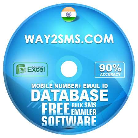 Indian Way2sms Com Mobile Number + Email ID Database