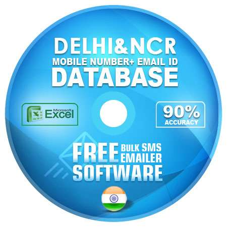 delhi ncr email and mobile number database free download