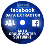 Facebook Data Extractor + Automatic Facebook Group Posting Software