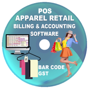 Apparel Retail Shop POS Billing and Accounting Software (GST)
