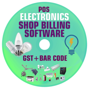 Electronics Shop Management POS Billing and Accounting Software (GST)