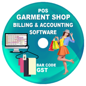 Garments Retail Shop POS Billing and Accounting Software (GST)