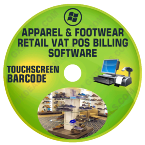 Apparel and Footwear Retail VAT POS Billing Software (VAT)