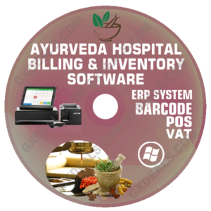 Ayurveda Hospital Billing and Inventory Software (VAT)
