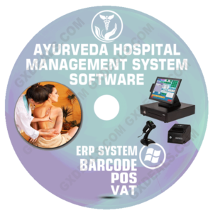 Ayurveda Hospital Management System Software (VAT)