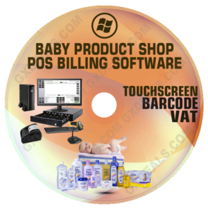 Baby Product Shop POS Billing Software (VAT)