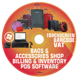 Bags and Accessories Shop Billing and Inventory Software (VAT)