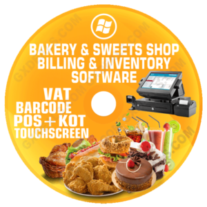 Bakery and Sweets Shop Billing and Inventory Software (VAT)