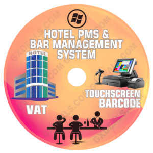 Bar Management Software and Hotel PMS System (VAT)