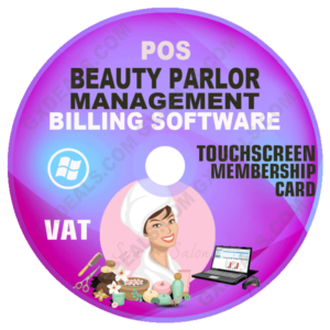 Beauty Parlor Management POS Billing and Accounting Software (VAT)