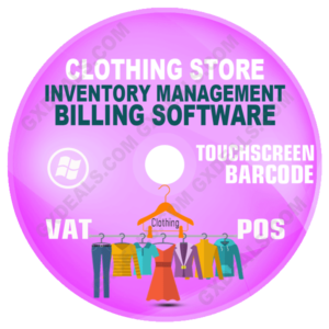 Clothing Store Inventory Management Software (VAT)