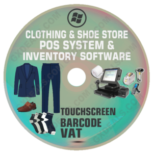 Clothing and Shoe Store POS System and Inventory Software (VAT)